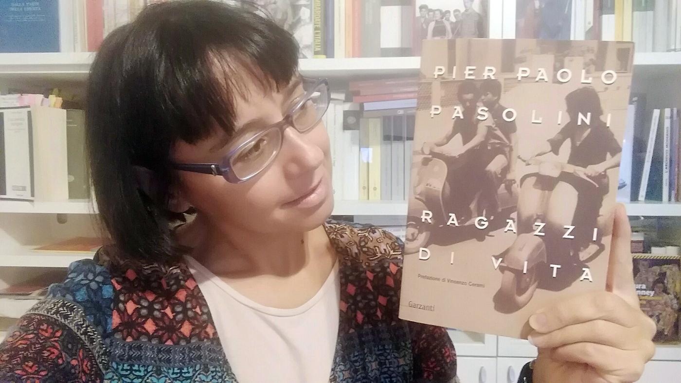 """Paola Gemelli e la """"sua"""" edizione di Ragazzi di vita."""