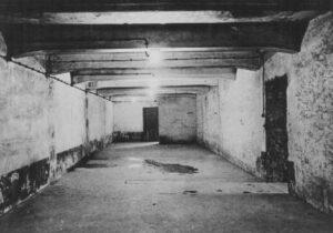 Camera a gas nel campo principale di Auschwitz