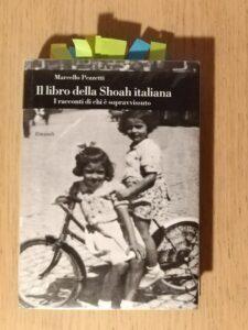 Libri sugli ebrei: la mia copia del libro sulla Shoah italiana