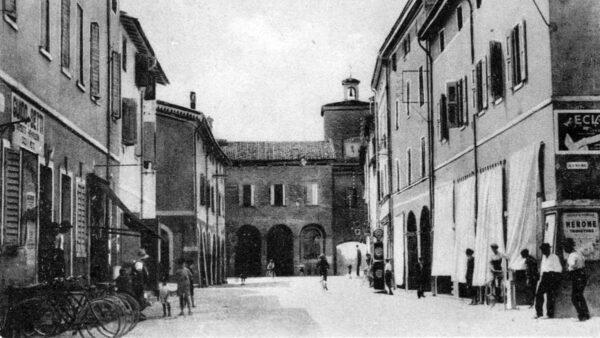 Soliera terra libera - foto del centro storico nel 1927