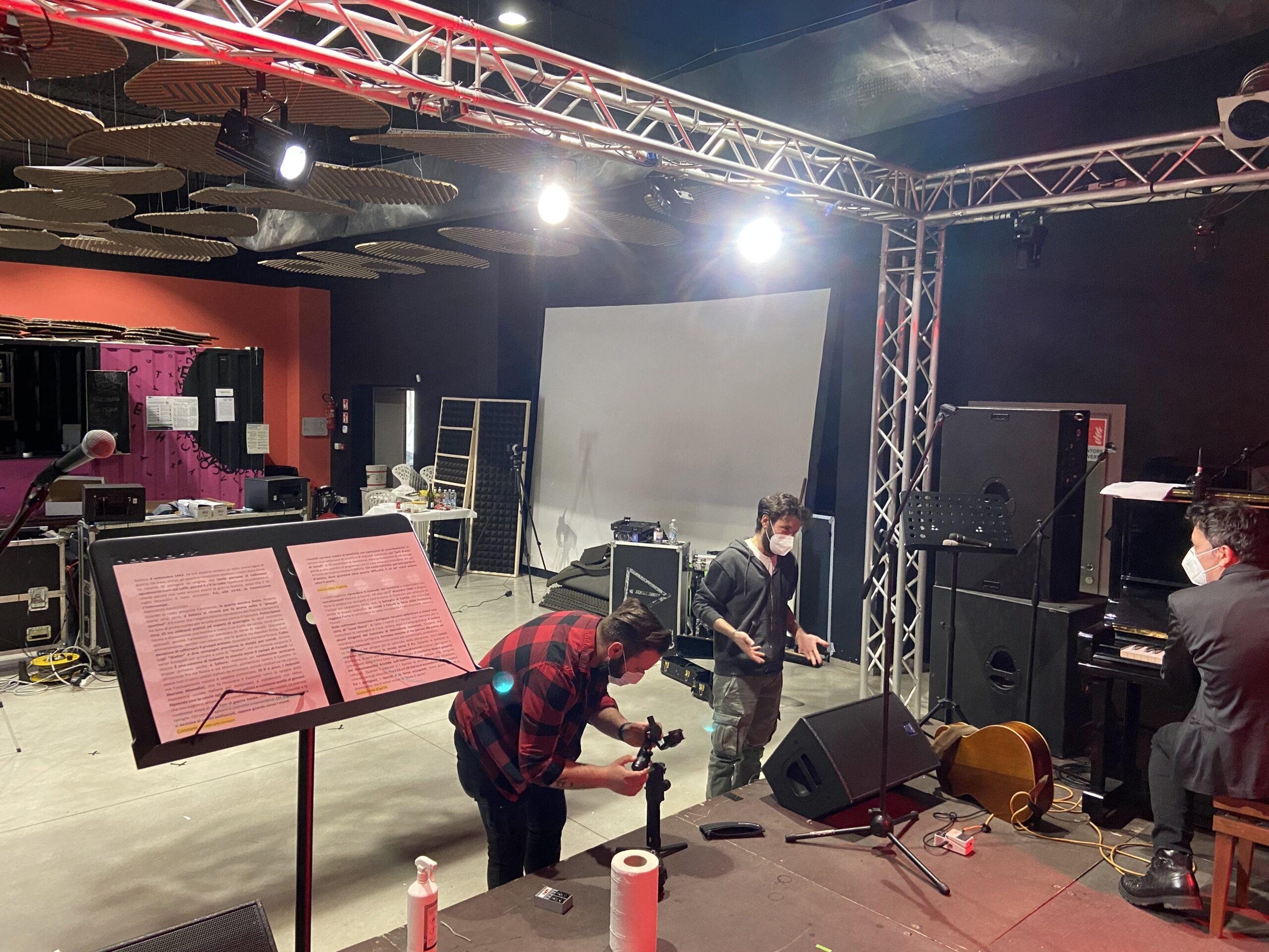 La preparazione del concerto-racconto