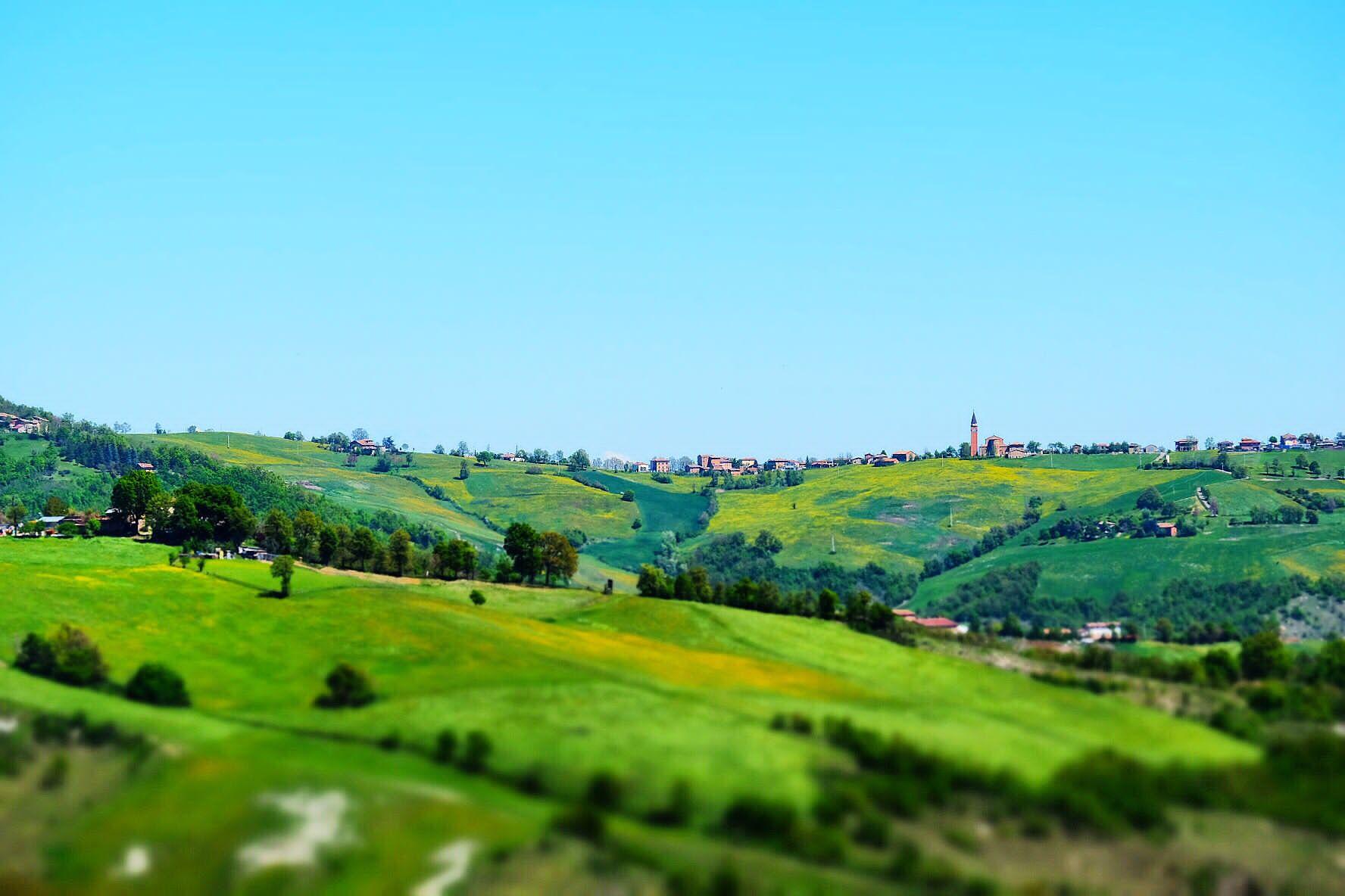 Panorama di Ospitaletto. Foto di Fausto Corsini